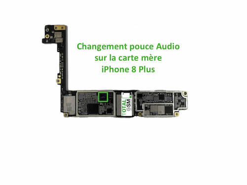 iPhone-8-Plus-reparation-probleme-de-pouce-audio
