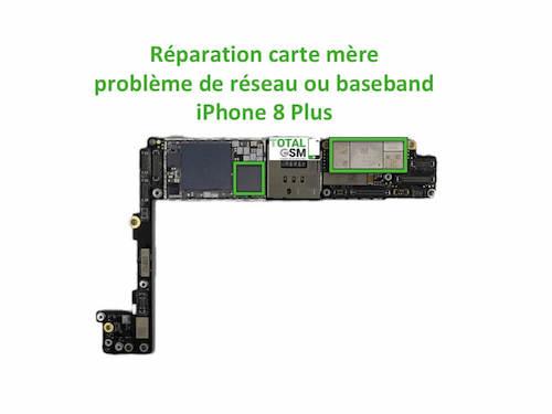 iPhone-8-Plus-reparation-probleme-de-reseaux-baseband
