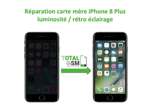 iPhone-8-Plus-reparation-probleme-de-retro-eclairage