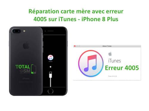 iPhone-8-Plus-reparation-probleme-erreur-4005-sur-itunes