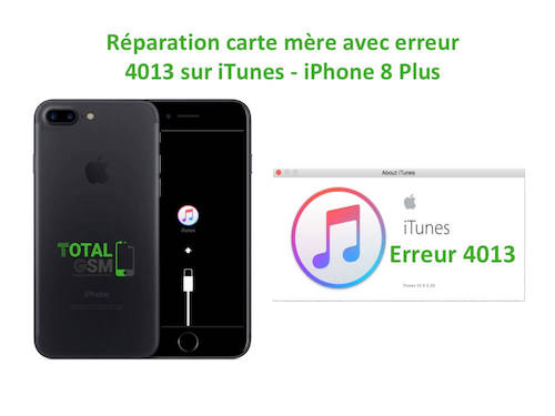 iPhone-8-Plus-reparation-probleme-erreur-4013-sur-itunes
