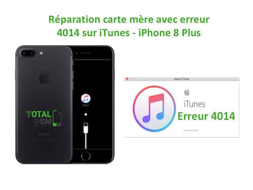 iPhone-8-Plus-reparation-probleme-erreur-4014-sur-itunes