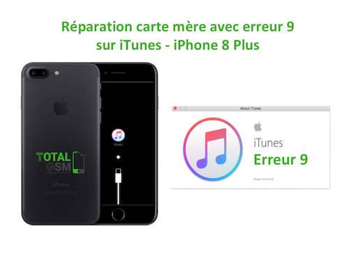 iPhone-8-Plus-reparation-probleme-erreur-9-sur-itunes