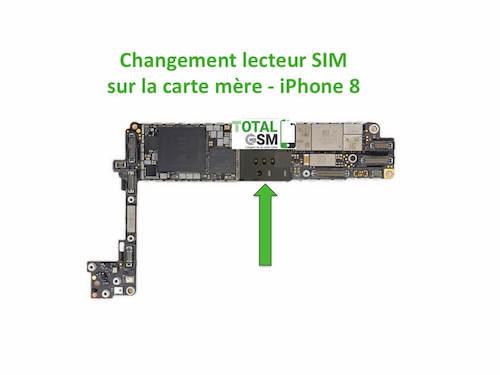 iPhone-8-changement-connecteur-SIM
