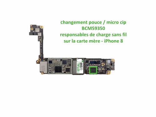 iPhone-8-reparation-probleme-de-charge-sans-fil-U2-Tristar-ticris