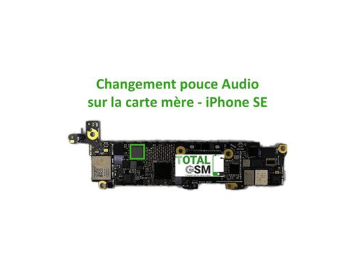 iPhone-SE-reparation-probleme-de-pouce-audio