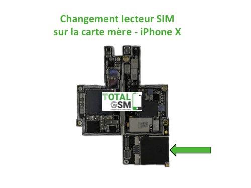 iPhone-X-changement-connecteur-SIM