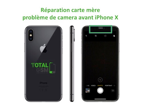 iPhone-X-reparation-probleme-de-camera-avant