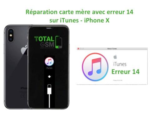 iPhone-X-reparation-probleme-erreur-14-sur-itunes