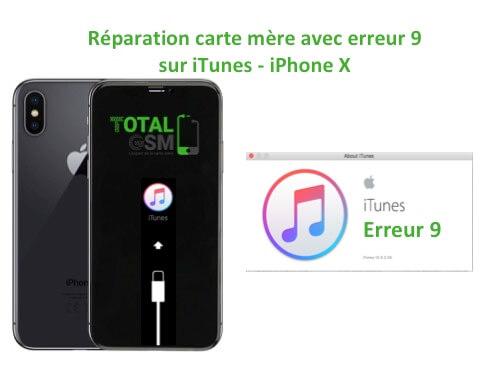 iPhone-X-reparation-probleme-erreur-9-sur-itunes