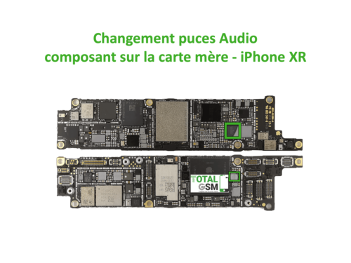 iPhone-XR-reparation-probleme-de-pouce-audio