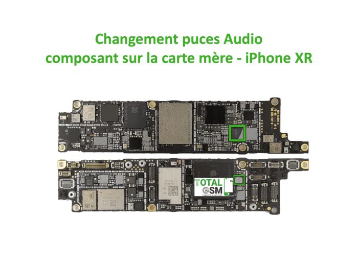 iPhone-XR-reparation-probleme-de-pouce-audio