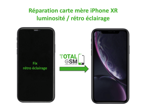 iPhone-XR-reparation-probleme-de-retro eclairage