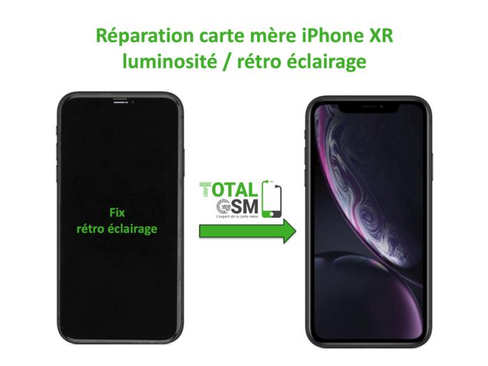 iPhone-XR-reparation-probleme-de-retro eclairage
