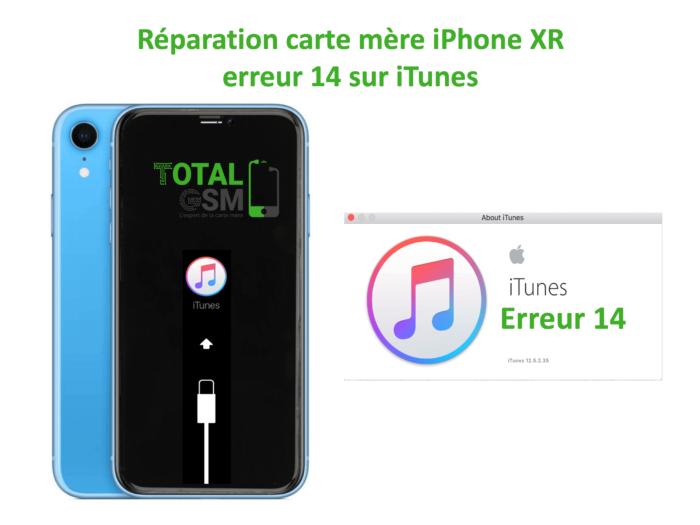 iPhone-XR-reparation-probleme-erreur-14-sur-itunes