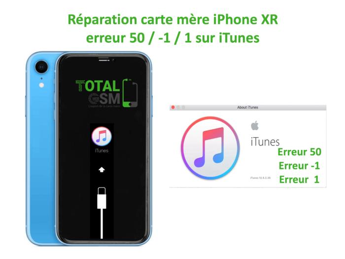 iPhone-XR-reparation-probleme-erreur-50 -1 1 -sur-itunes
