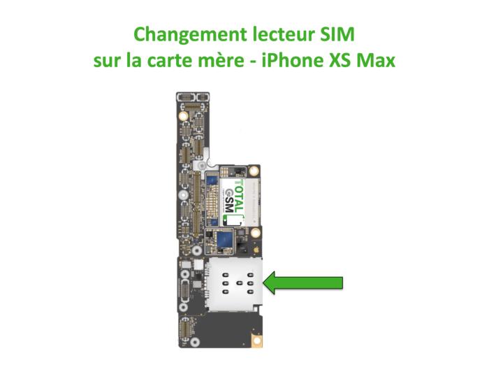iPhone-XS-MAX-changement-lecteur-sim