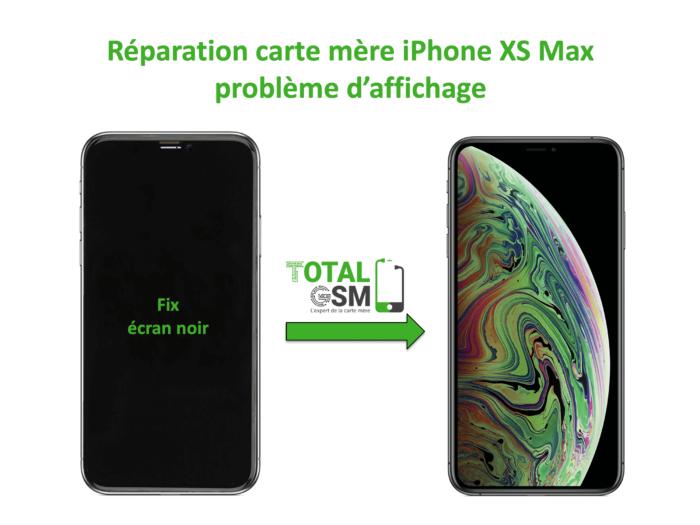 iPhone-XS-MAX-reparation-probleme-de-affichage