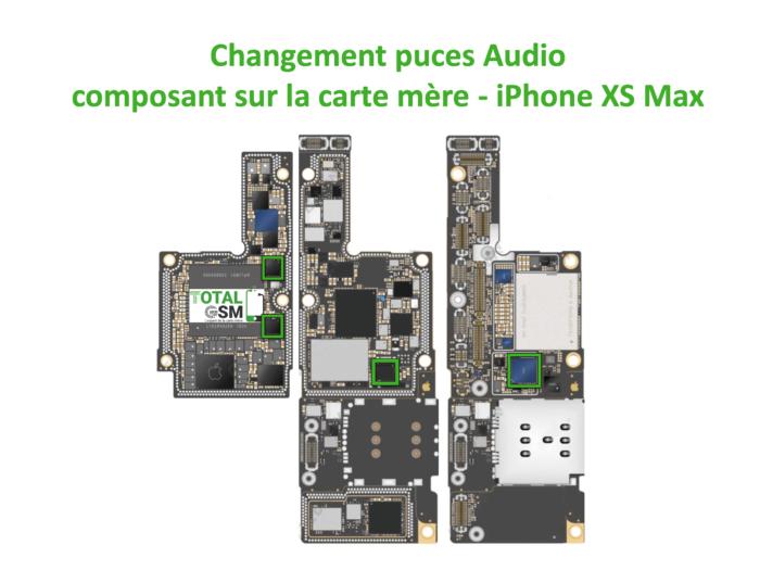 iPhone-XS-MAX-reparation-probleme-de-pouce-audio