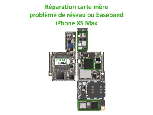 iPhone-XS-MAX-reparation-probleme-de-reseaux-baseband
