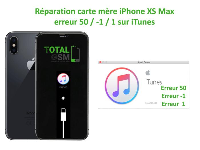iPhone-XS-MAX-reparation-probleme-erreur-50 -1 1-sur-itunes