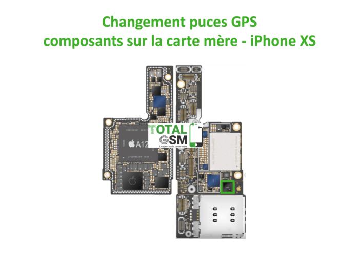 iPhone-XS-reparation-probleme-de-GPS