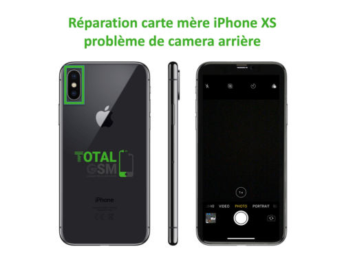 iPhone-XS-reparation-probleme-de-camera-arriere