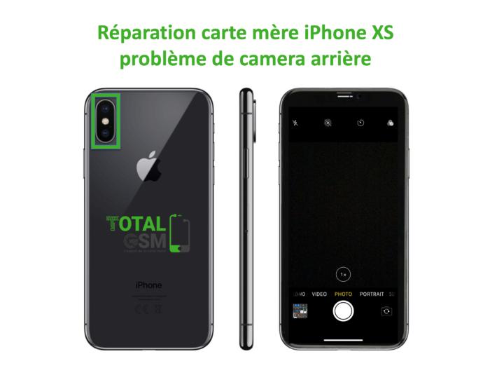 iPhone-XS-reparation-probleme-de-camera-arriere