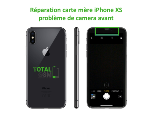 iPhone-XS-reparation-probleme-de-camera-avant