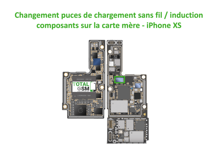 iPhone-XS-reparation-probleme-de-charge-induction