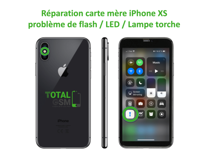 iPhone-XS-reparation-probleme-de-led