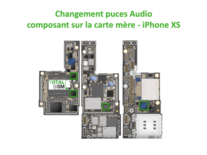 iPhone-XS-reparation-probleme-de-pouce-audio