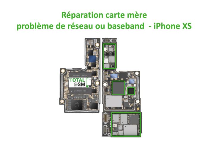 iPhone-XS-reparation-probleme-de-reseaux-baseband