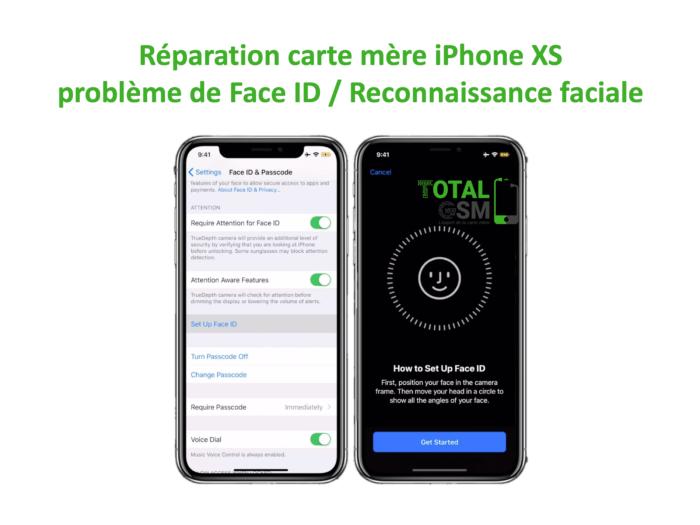 iPhone-XS-reparation-probleme-de-senseur-de-face-id-reconnaissance-faciale