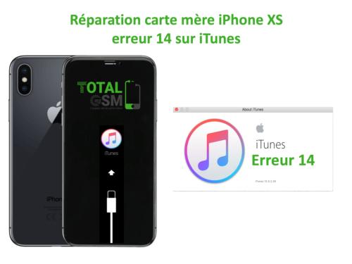 iPhone-XS-reparation-probleme-erreur-14-sur-itunes