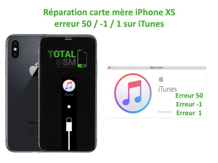 iPhone-XS-reparation-probleme-erreur-50 -1 1-sur-itunes