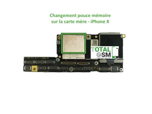 iPhone-x-reparation-probleme-de-memoire