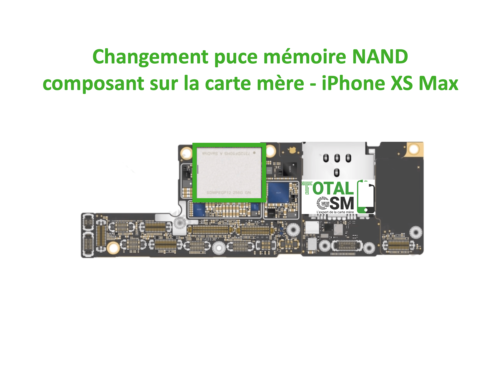iPhone-xs-MAX-reparation-probleme-de-MEMOIRE