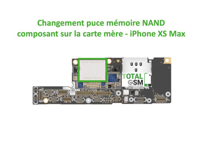 iPhone-xs-MAX-reparation-probleme-de-MEMOIRE