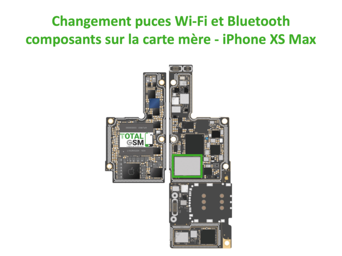 iPhone-xs-MAX-reparation-probleme-de-WIFI-Bluetooth