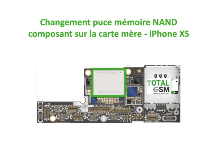iPhone-xs-reparation-probleme-de-MEMOIRE